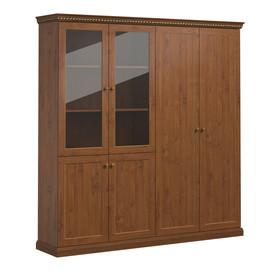 ISEO Шкаф для бумаг с комбинированными дверьми L201 ВИШНЯ АНТИЧНАЯ (136H013 Iseo)