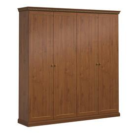 ISEO Шкаф для бумаг деревянные двери L201 ВИШНЯ АНТИЧНАЯ (136H011 Iseo)