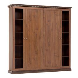 ISEO Шкаф для бумаг с ассиметричными дверьми L201 ВИШНЯ АНТИЧНАЯ (136H016 SX/DX)