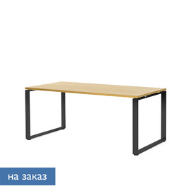 EXE Стол письменный 180 черн ДУБ ФЛОРЕ/ЧЕРН (101 102 FLO 09)
