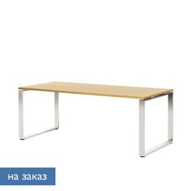 EXE Стол письменный 200 хром ДУБ ФЛОРЕ/ХРОМ (101 103 FLO 07)