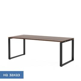 EXE Стол письменный 200 черн ОРЕХ МАРОНЕ/ЧЕРН (101 103 MAR 09)