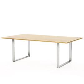 EXE Стол для переговоров ДУБ ФЛОРЕ/ХРОМ (101 901 FLO 07)
