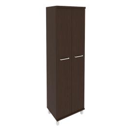 Гардероб для одежды в офис KG-1 600*430*2060 Венге
