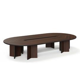 LEGNO Стол переговоров 416х216 ОРЕХ (LEGNO Conference table 416x216 WA)