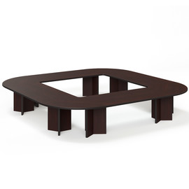 LEGNO Стол переговоров 416х416 ПАЛИСАНДР (LEGNO Conference table 416x416 PL)