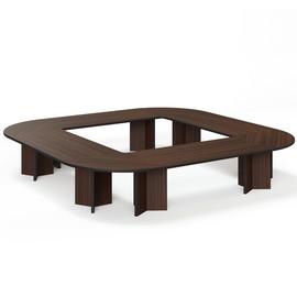 LEGNO Стол переговоров 416х416 ОРЕХ (LEGNO Conference table 416x416 WA)