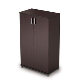 Шкаф для документов средний закрытый AVANCE 6Ш.017.1 Венге 800х450х1348