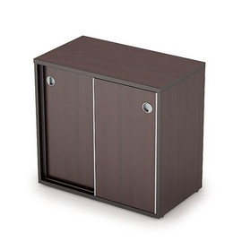 Шкаф-купе для документов низкий AVANCE 6ШК.017 Венге 800х400х750 (без замка)