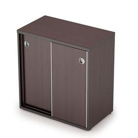 Шкаф-купе для документов низкий AVANCE 6ШК.010 Венге 700х400х750 (без замка)