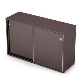 Шкаф-купе для документов низкий средний AVANCE 6ШК.011 Венге 1235х400х750 (без замка)