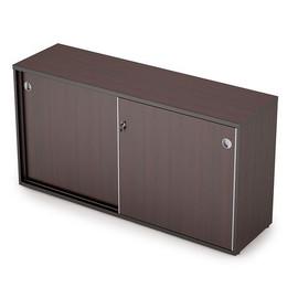 Шкаф-купе для документов низкий удлиненный AVANCE 6ШКЗ.012 Венге 1435х400х750 (с замком )