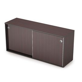 Шкаф-купе для документов низкий длинный AVANCE 6ШКЗ.018 Венге 1635х400х750 (с замком)