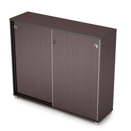 Шкаф-купе для документов средний удлиненный AVANCE 6ШКЗ.014 1437х400х1205 Венге ( с замком )