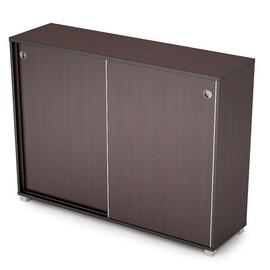Шкаф-купе для документов средний длинный AVANCE 6ШК.019 Венге 1637х400х1205 (без замка)