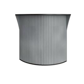 Ресепшн угловой с ролетой RIVA А.РС-5.5 950х950х1150