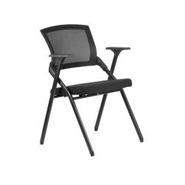 Офисное кресло складное для посетителей и переговорных Riva Chair M2001  Черное