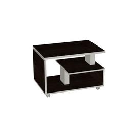 Стол журнальный в офис Bella Vita для кабинета руководителя арт. BV-1.10 800х550х550 Тёмная Сосна Ларедо