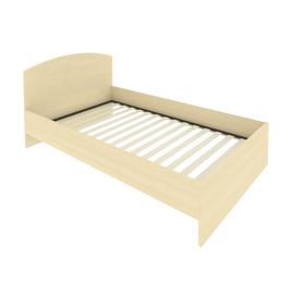 Кровать с ортопедическим основанием и изголовьем С-КИ-120 Клён 1250*2050*900