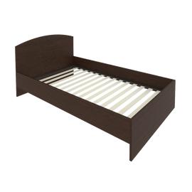 Кровать с ортопедическим основанием и изголовьем С-КИ-120 Венге 1250*2050*900
