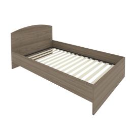 Кровать с ортопедическим основанием и изголовьем С-КИ-120 Вяз 1250*2050*900