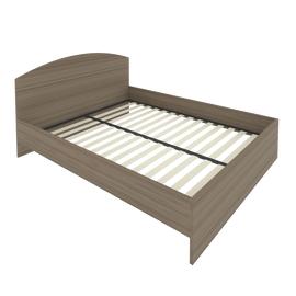 Кровать с ортопедическим основанием и изголовьем С-КИ-160 Вяз 1650*2050*900