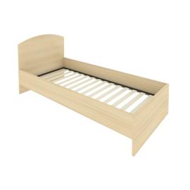 Кровать с ортопедическим основанием и изголовьем С-КИ-90 Акация 950*2050*900
