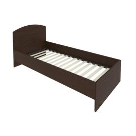 Кровать с ортопедическим основанием и изголовьем С-КИ-90 Венге 950*2050*900
