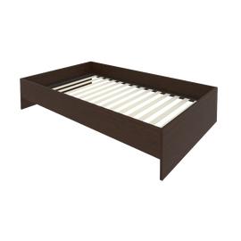 Кровать с ортопедическим основанием без изголовья С-К-120 Венге 1250*2050*400