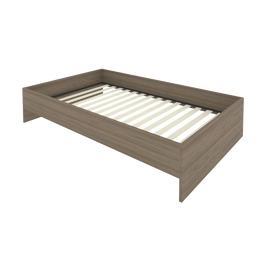 Кровать с ортопедическим основанием без изголовья С-К-120 Вяз 1250*2050*400