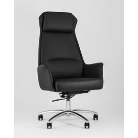 Кресло для руководителя TopChairs Viking черное Stool Group