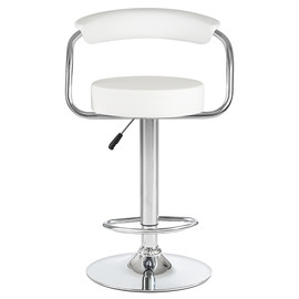 Барный стул LM-5013 белый DOBRIN