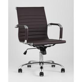 Кресло офисное TopChairs City S коричневое Stool Group  Stool Group