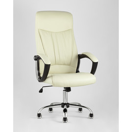 Кресло для руководителя TopChairs Tower бежевое Stool Group