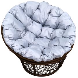 """Кресло """"Папаса"""" цвет: Коричневый; подушка: Серый"""