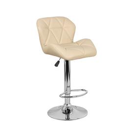 Барный стул Алмаз WX-2582 Экокожа, Бежевый Ecoline