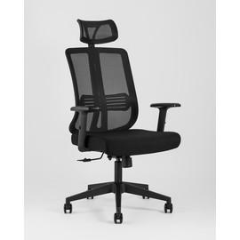 Компьютерное кресло для руководителя TopChairs Post черное Stool Group