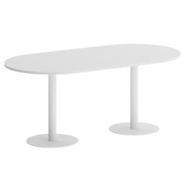 Стол квадратный ONIX VR.SP-5-180.1 Белый бриллиант/Белый