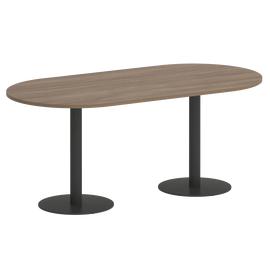 Стол овальный ONIX VR.SP-5-180.1 Дуб Аризона/Антрацит