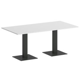Стол прямоугольный ONIX VR.SP-5-180.2 Белый бриллиант/Антрацит