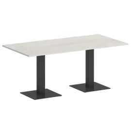 Стол прямоугольный VR.SP-5-180.2  Дуб Наварра/Антрацит