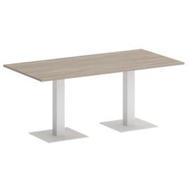Стол прямоугольный ONIX VR.SP-5-180.2 Дуб Аттик/Белый