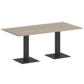 Стол прямоугольный ONIX VR.SP-5-180.2 Дуб Аттик/Антрацит