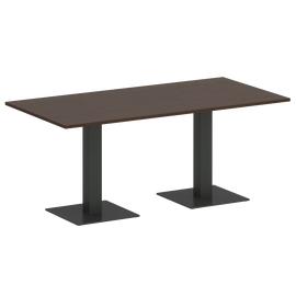 Стол прямоугольный VR.SP-5-180.2  Венге/Антрацит