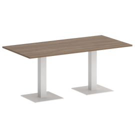 Стол прямоугольный ONIX VR.SP-5-180.2 Дуб Аризона/Белый