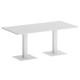 Стол прямоугольный VR.SP-5-180.2 Белый/Белый