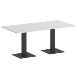 Стол прямоугольный VR.SP-5-180.2 Белый/Антрацит