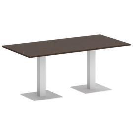 Стол прямоугольный VR.SP-5-180.2  Венге/Белый