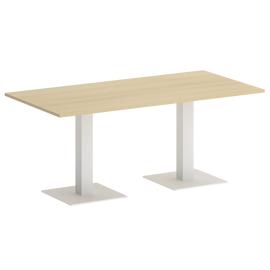 Стол прямоугольный VR.SP-5-180.2 Акация/Белый
