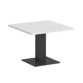 Стол журнальный квадратный ONIX VR.SP-5-60.2G Белый бриллиант/Антрацит